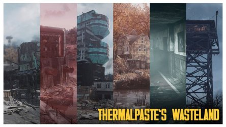Мод THERMALPASTE'S Wasteland — мрачная и постапокалиптическая графика